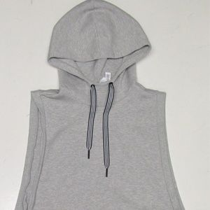 Adidas Men's Sleeveless Cotton Hooded Training Top